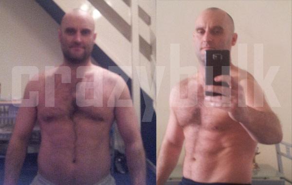 crazybulk-antes y después de-Clenbuterol